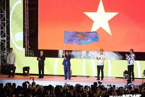 Việt Nam nhận cờ chủ nhà SEA Games 31