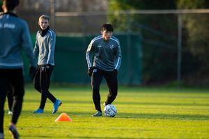 Sang Hà Lan, Văn Hậu lao vào tập luyện cùng SC Heerenveen