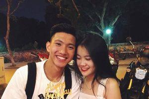 Cầu thủ U22 Việt Nam chiều chuộng, tình cảm với bạn gái