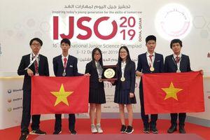 Việt Nam đạt thành tích xuất sắc tại Olympic Khoa học trẻ quốc tế