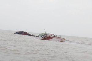 Cứu 6 thuyền viên gặp nạn trên biển Hải Phòng