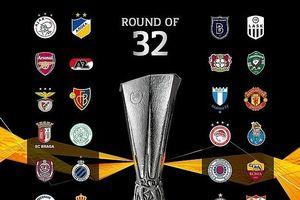 Xác định 32 đội bóng lọt vào vòng knock-out Europa League