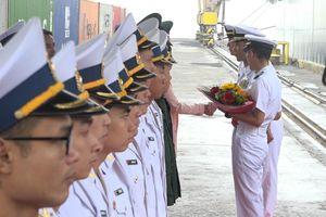 Hai tàu quét mìn của Nhật Bản cập cảng Đà Nẵng