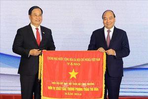 Thủ tướng Nguyễn Xuân Phúc dự Lễ kỷ niệm 20 năm Hiệp hội dệt may Việt Nam