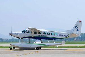 Thủy phi cơ của hàng không Hải Âu liên tiếp quay đầu vì không thu được càng