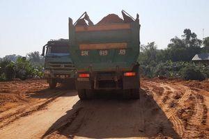 Hà Giang: Hoạt động san, lấp mặt bằng tại huyện Bắc Quang diễn biến phức tạp