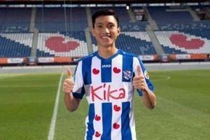 Trở về sau SEA Gemas, Văn Hậu được đăng ký trong đội hình Heerenveen