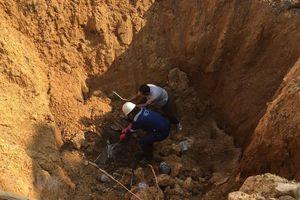 Hà Nội: Giao công an làm rõ vụ chôn lấp chất thải trái phép tại huyện Sóc Sơn