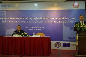 Hội thảo quốc tế về tăng cường thực thi pháp luật về động vật hoang dã