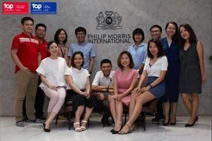 Philip Morris International liên tiếp đạt danh hiệu 'Nhà tuyển dụng hàng đầu toàn cầu'