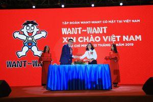 Tập đoàn Want~Want ra mắt tại Việt Nam, chính thức thâm nhập thị trường Đông Nam Á