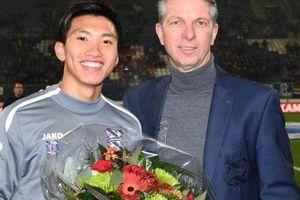 Văn Hậu được vinh danh trong ngày Heerenveen thua đau vì hàng thủ