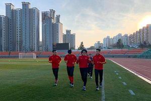 3 tuyển thủ U23 Việt Nam phải tập riêng ở Hàn Quốc