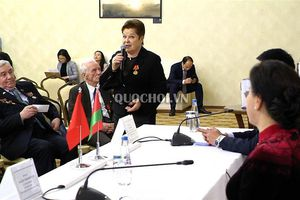 Chủ tịch Quốc hội Nguyễn Thị Kim Ngân tiếp Hội Cựu chiến binh Belarus