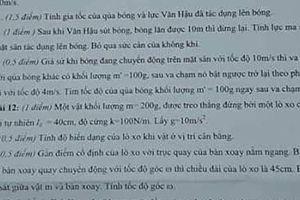 Hải Phòng: Đưa cú sút bóng của Văn Hậu vào đề thi
