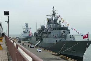 Chiến hạm Thổ Nhĩ Kỳ chạm trán tàu Israel ở Địa Trung Hải