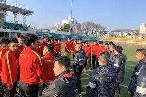 Học trò ông Park miệt mài khổ luyện ở Hàn Quốc