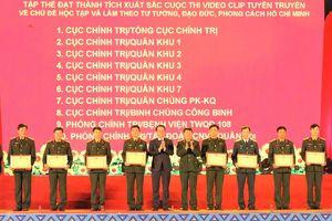 Tổng kết, trao giải cuộc thi tìm hiểu 75 năm Thành lập QĐND Việt Nam