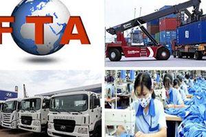 Nhiều hiệp định thương mại đang bước vào giai đoạn cuối của lộ trình cắt giảm thuế