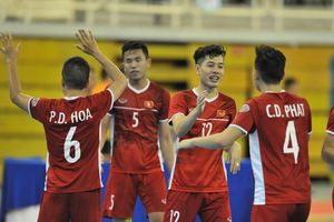Video trực tiếp tuyển Futsal Việt Nam tranh chức vô địch với Thái Lan