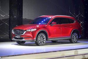 Mazda CX-8 giảm giá 100 triệu, 'đe nẹt' Toyota Fortuner, Hyundai Santa Fe