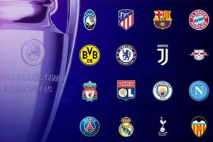 Chờ đại chiến vòng 1/8 Champions League
