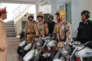 Ra quân đảm bảo ATGT dịp Tết: CSGT đưa vào thiết bị kiểm soát ma túy mới