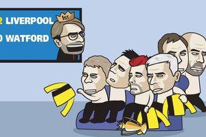 Biếm họa 24h: 'Ông lớn' của Ngoại hạng Anh vỡ mộng với Watford