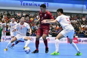 Thua Thái Lan, Futsal Việt Nam về nhì ở giải giao hữu