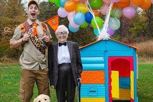Cụ bà 93 tuổi và cháu trai bất ngờ nổi tiếng mạng xã hội vì cách ăn mặc và biểu cảm 'lầy lội'