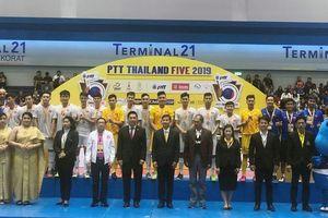 ĐT futsal Việt Nam giành ngôi Á quân giải quốc tế ở Thái Lan