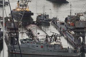Tàu ngầm Nga chìm vì ụ nổi từ năm 1941