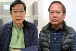 Hai cựu Bộ trưởng Nguyễn Bắc Son, Trương Minh Tuấn hầu tòa