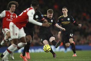 M.U và Arsenal mất điểm, bảng xếp hạng mới nhất giải Ngoại hạng Anh