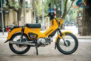 Soi chi tiết xe 'độc' Honda Cross Cub 110cc giá hơn trăm triệu đồng tại Hà Nội