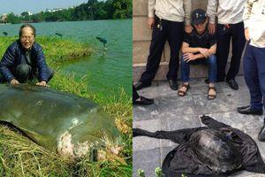 PGS Hà Đình Đức: 'Rùa nặng hơn 10kg ở hồ Gươm là rùa núi nâu'