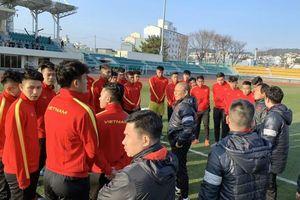 Lý do U23 Việt Nam đến Hàn Quốc tập huấn