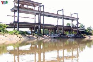 Nước mặn tấn công tỉnh Vĩnh Long, độ mặn nhiều nơi vượt ngưỡng