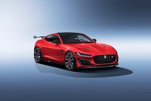 Jaguar F-Type 2020 nâng cấp có thiết kế giống như một chiếc SVR