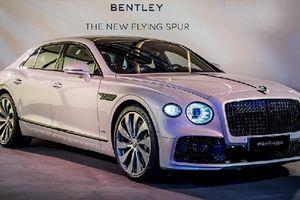 Sedan hạng sang Bentley Flying Spur 2020 lăn bánh đến Châu Á