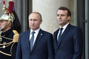 Tổng thống Putin điện đàm về vấn đề trung chuyển khí đốt qua Ukraine với tổng thống Pháp