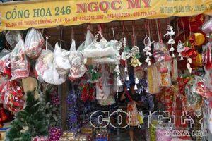 TPHCM: Đường phố ngập tràn không khí Noel