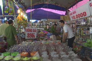 Tạm giữ hàng trăm sản phẩm không rõ nguồn gốc của cửa hàng ở Đắk Lắk