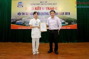 BVTƯ Huế: Tổ chức Hội thi nâng cao kỹ năng tay nghề