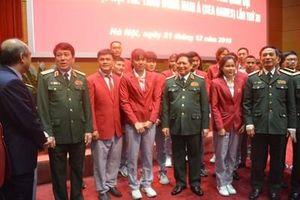 Tuyên dương HLV, VĐV quân đội đạt thành tích xuất sắc tại SEA Games lần thứ 30