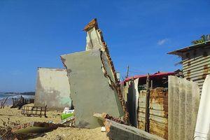 Mùa 'biển lở': Lo mất đất, mất nhà