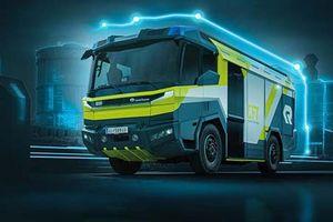 Cận cảnh xe cứu hỏa chạy điện đầu tiên trên thế giới