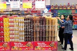 Sản phẩm bánh, kẹo, mứt phục vụ Tết Nguyên đán tại Đà Nẵng: Hàng Việt chiếm đa số