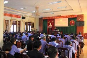 VKSND tỉnh Đắk Lắk bồi dưỡng nghiệp vụ cho cán bộ, Kiểm sát viên