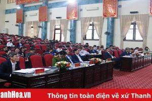Huyện Hà Trung: 26/30 chỉ tiêu chủ yếu theo nghị quyết của HĐND huyện hoàn thành và hoàn thành vượt mục tiêu kế hoạch